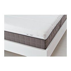 Would be great for sleeper sofa. -- TUSSÖY Mattress topper, white - white - Queen - IKEA