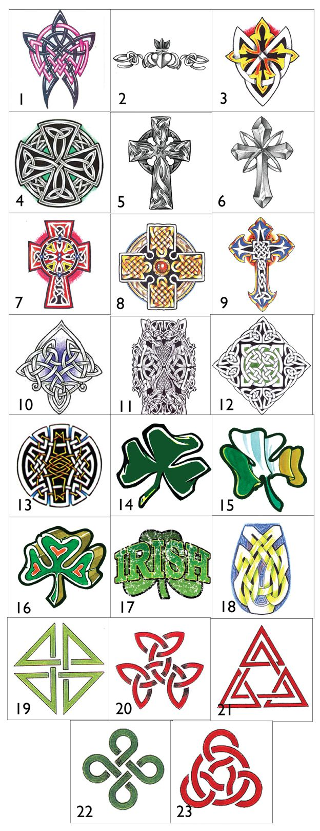 Irish Celtic Symbols And Their Meanings Irish celtic symbols