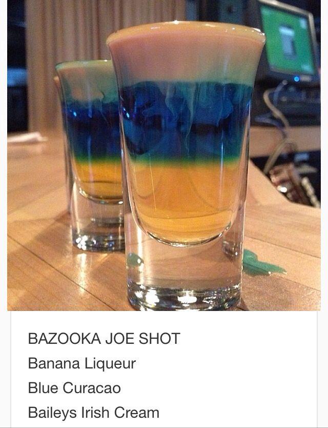 Bazooka Joe Shot~ tipsy bartender