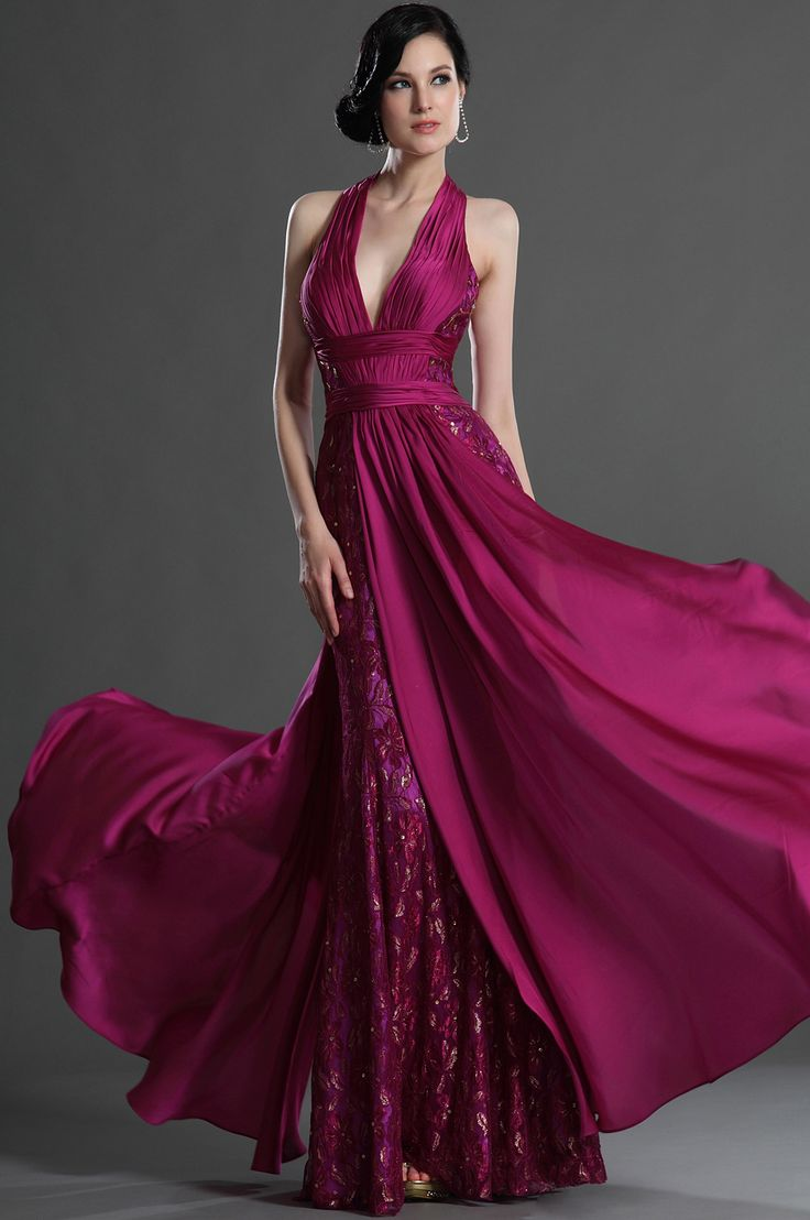 17 best ideas about magenta dresses on pinterest elegant for Magenta dress for wedding