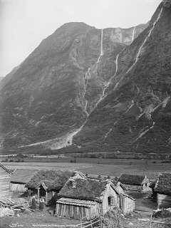From Gudvangen camping in the old time