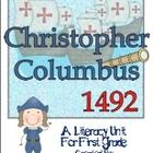Christopher Columbus 1492 A Literacy Unit For First Grade offers some history through an original poem/song. It includes:    *Christopher Columbus,...