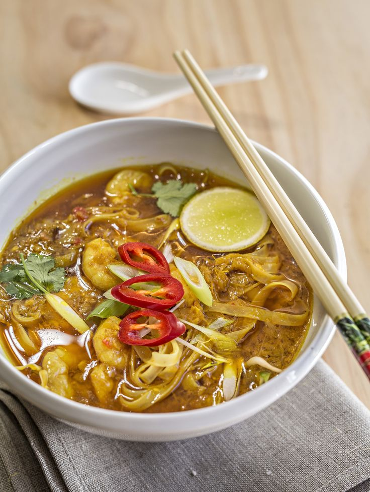 Love a good laksa?  With prawns, coconut cream and lots of other amazing flavours, this recipe will not disappoint!