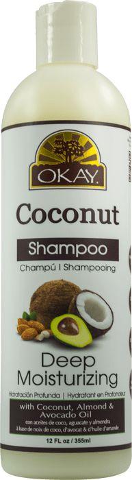 Okay Coconut Deep Moisturizing Shampoo (12 Oz)