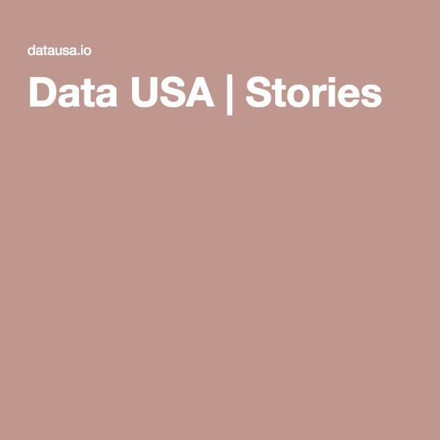 Data USA | Stories