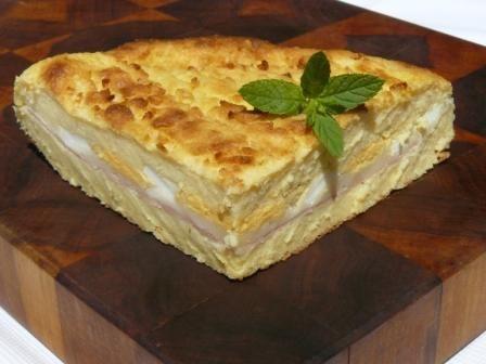 Gatto di patate (aardappelkoek met mozzarella) - recept uit Antipasti