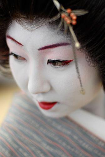 Geisha Noriye, Asakusa (Tokyo)
