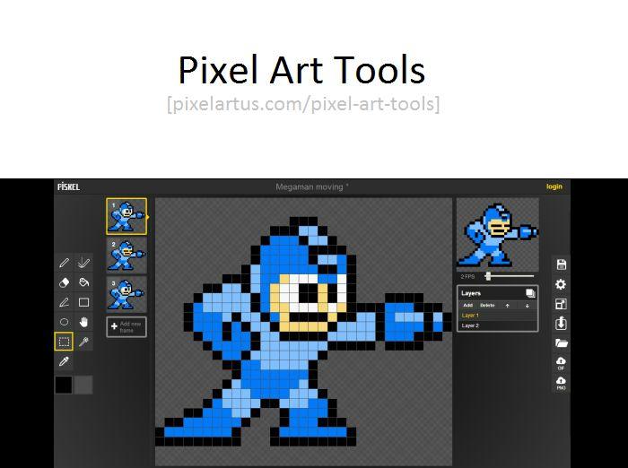 Free Pixel Art Tools: • Piskel [Windows/Mac + Browser] • Pixel Art Editor [Browser] -with collaborative editing mode- • Aseprite 0.95 [Windows/Mac/Linux] • Grafx2 [Windows/Mac/Linux] • Paint.NET [Windows] • GIMP [Windows/Mac/Linux] • Paint...