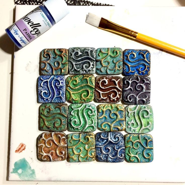 collaboration tile 10x10 for http://www.staedtler.com/en/inspirations/for-creative-hobby-users/50-years-of-fimo/ https://www.facebook.com/PolymerClayItalia/ https://www.facebook.com/LeilaBidlerPolymerClay/