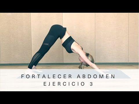 Fortalecer abdomen - Ejercicio 3  Vanesa Lorenzo - YouTube