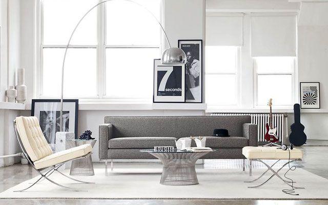   30 ejemplos de decoración de salones con el sillón Barcelona