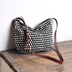 Day Bag Triangle, $70, now featured on Fab.