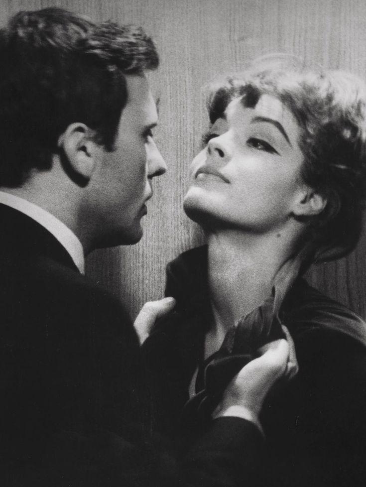 Romy Schneider et Jean-Louis Trintignant dans Le combat dans l'île (Alain Cavalier, 1962)