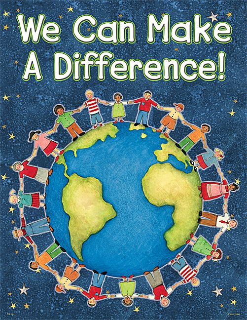 We Can Make A Difference Chart from Susan Winget (TCR7694) « Products | Teacher Created Resources