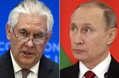 "Tillerson in Moscow, getting in line with Haley on tough Syria talk Secretary of State Rex Tillerson said Tuesday that ""the reign of the Assad family is coming to an end,"" taking a firmer stance on Syria and aligning himself with statements from U.S. Ambassador to the United Nations Nikki Haley – after the two top diplomats seemed to take a... http://conservativeread.com/tillerson-in-moscow-getting-in-line-with-haley-on-tough-syria-talk/"