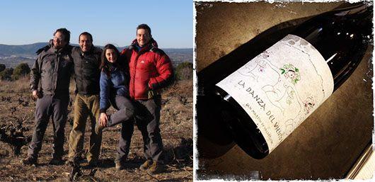 La Danza del Viento 2011 4Monos viticultores Vinos de Madrid ガルナチャ 無濾過