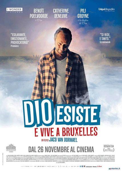 Locandina del film Dio esiste e vive a Bruxelles