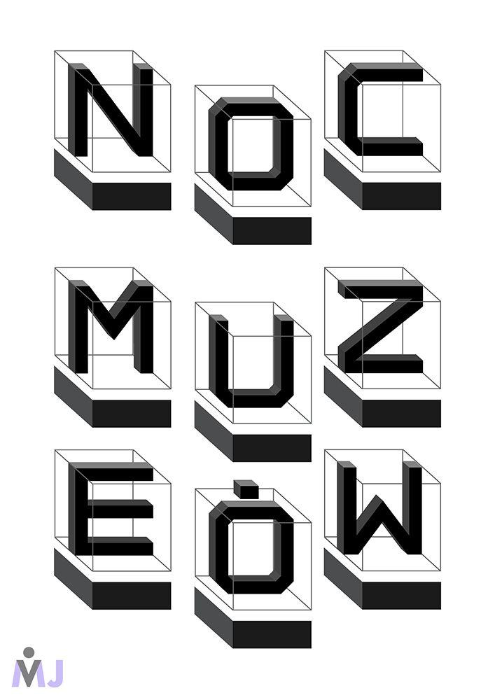 Noc Muzeów - Plakaty -Identyfikacja wizualna - WWW