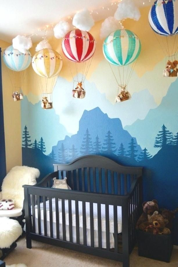 Image Result For Nursery Mural Ideas