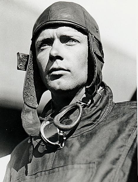 Charles Lindbergh - This aviator became famous for making the first solo transatlantic airplane flight in 1927.