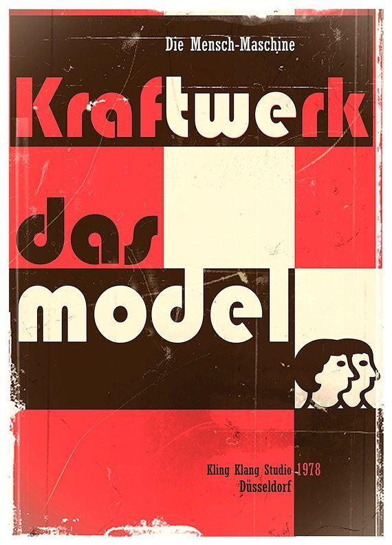 """Inspired by my favorite old synth-pop song """"Das Model"""" Kraftwerk band released in 1978. Milena Gawlik."""