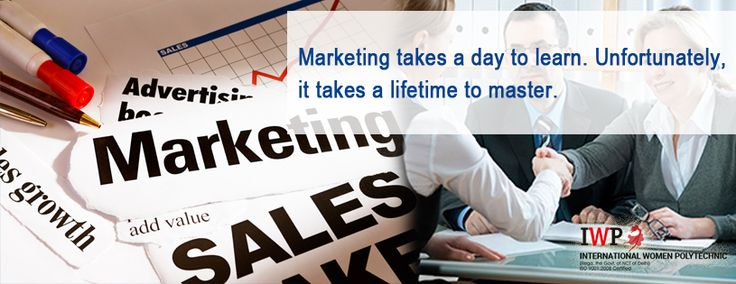 #Marketing takes a day to learn. Unfortunately, it takes a life time to master. http://www.iwpindiaonline.com/advertisement-institute.php