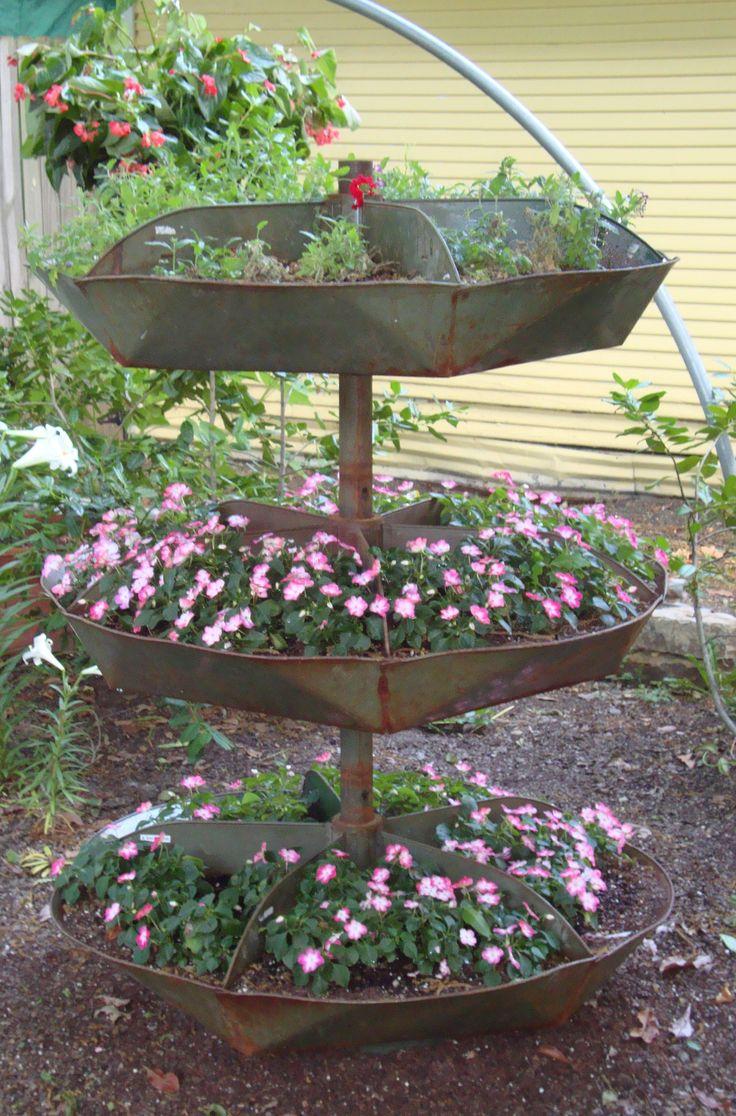 Planted old hardware store nailbin - 579 Best Garden Creative Ideas Images On Pinterest Plants
