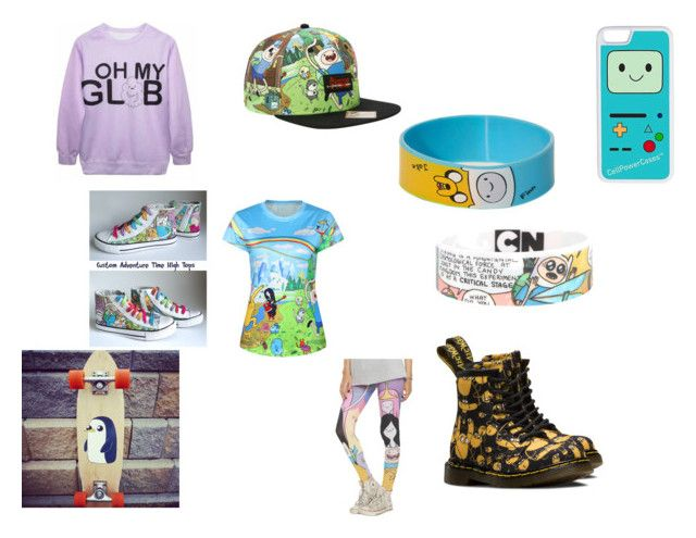 """""""ADVENTURE TIME!!! (Adventure time #2)"""" by pugshugs on Polyvore featuring CellPowerCases"""