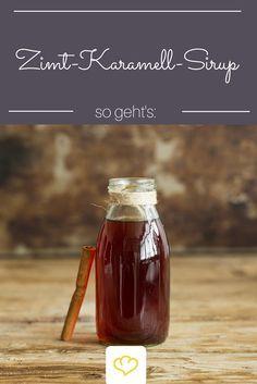 Mit ihm lassen sich Dessert aller Art verfeinern: Zimt-Karamell-Sirup. Ganz besonders gut schmeckt er aber zu Eis oder im Kaffee!