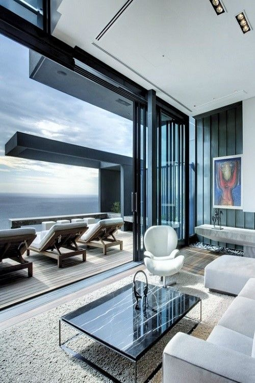 Seaview House Designed By Parsonson Architects: 23 Best Images About Pent House On Pinterest