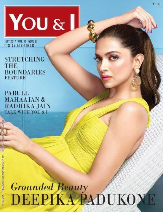 bollywoodmirchitadka: Deepika Padukone On The Cover of You & I Magazine ...