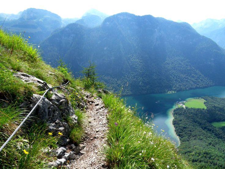 Der Rinnkendlsteig von St. Bartholomä am Königssee nach Kühroint - Berchtesgadener Land Blog