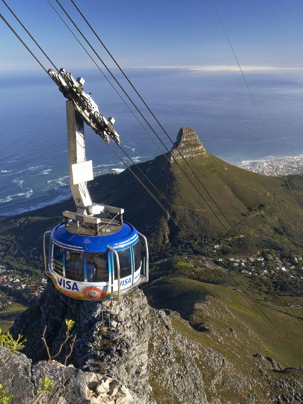 A visit up the iconic Table Mountain in Cape Town is a great family outing and an absolute must on a visit to Cape Town