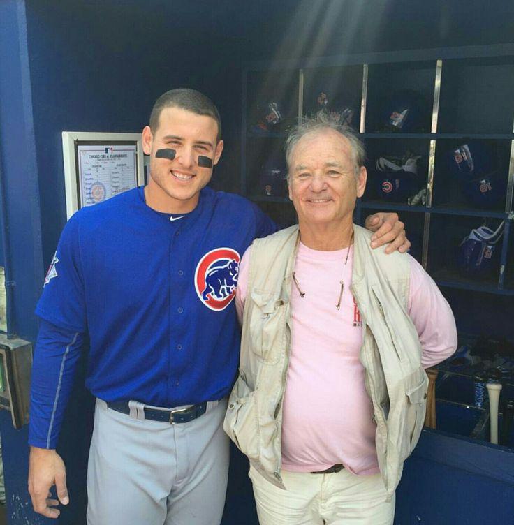 Go Cubs Go! Bill Murray is my favorite Cubs fan...