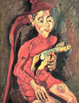 Chaïm Soutine (1894-1913) - L'Enfant au jouet - 1919