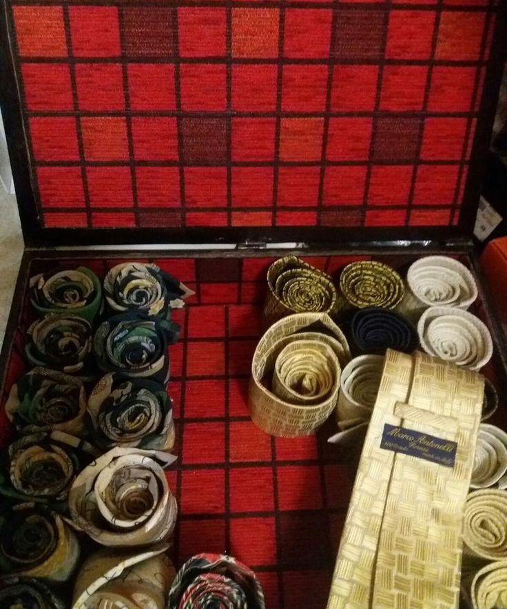 lotto cravatte 27 pz prezzo outlet stock seta Antonelli Firenze uomo elegante   eBay