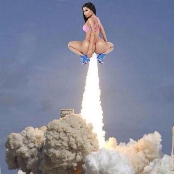 Nicki Minaj's new album cover ;)