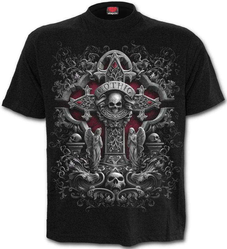 Camiseta In Goth we Trust  #spiraldirect #ropagotica #gotico #gothic #spiral #camisetas #moda #alternativa #xtremonline