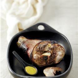 Χοιρινό μπούτι στο φούρνο