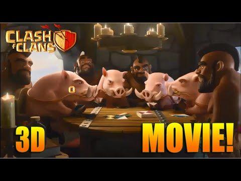 Clash Of Clans Movie - Full Animated Clash Of Clans Movie Animation Collection - New Coc movie 2016 - YouTube