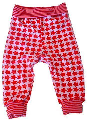 kostenlose Nähanleitung - Kuschelhose free tutorial sewing baby