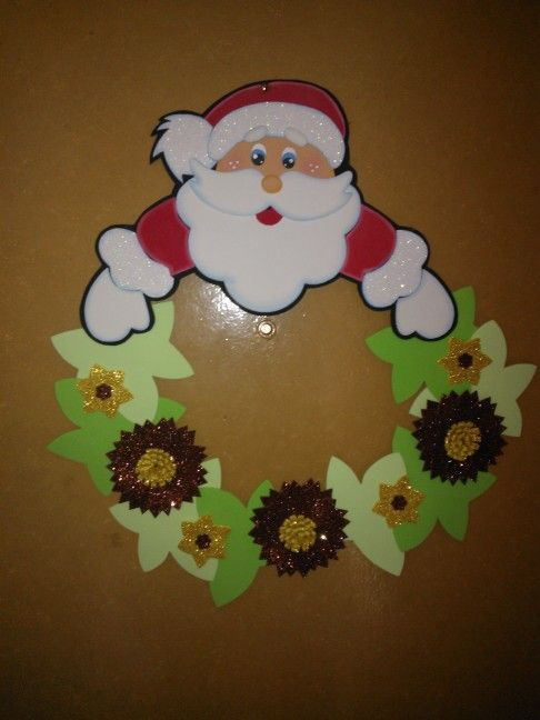 271 best navidad goma eva images on Pinterest Christmas crafts