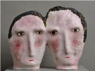 Faces by Claire Loder.