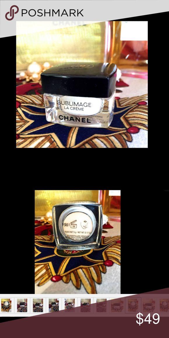 🐩New Chanel Sublimage La Creme 5 Gram Travel Size New Chanel Sublimage La Creme 5 Gram Travel Size Glass Jar Paris 100% Authentic CHANEL Makeup