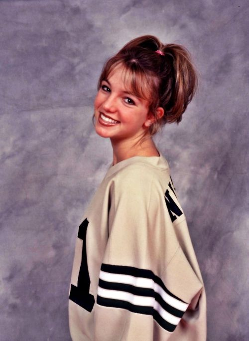 Brit Brit looks so pretty and young here. We can't believe she was only 16 when her first CD came out. www.OJinBG.com