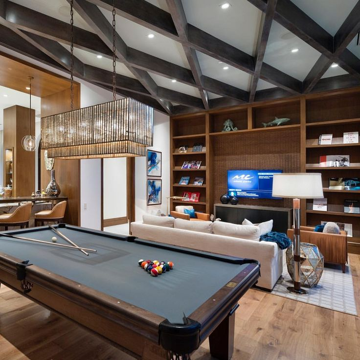 Recreation Room Design Ideas: 82 Best Rec Room/Game Room Images On Pinterest