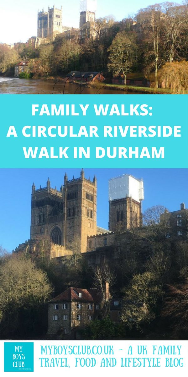 One of my favourite things to do in Durham is to head to the river and walk along the one mile along the shaded riverside footpath from just beneath the 12th-century Framwellgate Bridge to Elvet Bridge, around the WHS Durham Castle & Cathedral a distance of just over a mile. A perfect family walk for all ages.