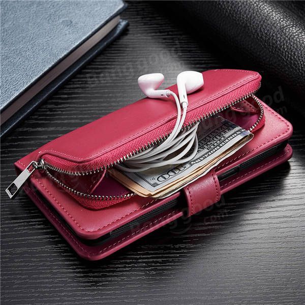 Multifunctional Detachable Wallet Card-Slots PU Leather Case for iPhone7/7Plus/6/6s/6Plus/6sPlus Sale - Banggood.com