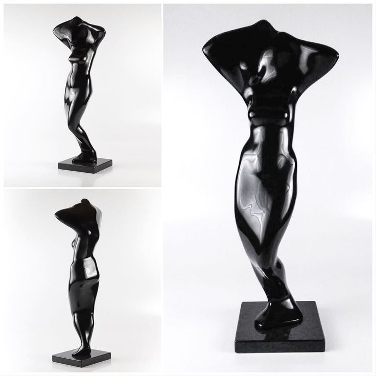 """""""Modern Venus"""" maquette (2012). Last available edition on display at the BLACK & WHITE exhibition at @absolut.art gallery 27 July - 29 August.  #sculpture #art #fineart #figurativeart #gallery #exhibition #artist #capetown #southafrica"""