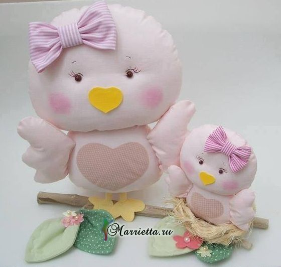 Patterns uccelli per i giocattoli da cucire (7) (560x532, 171Kb)